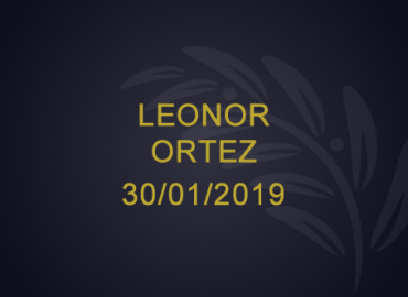 Leonor Ortez – 30/01/2019